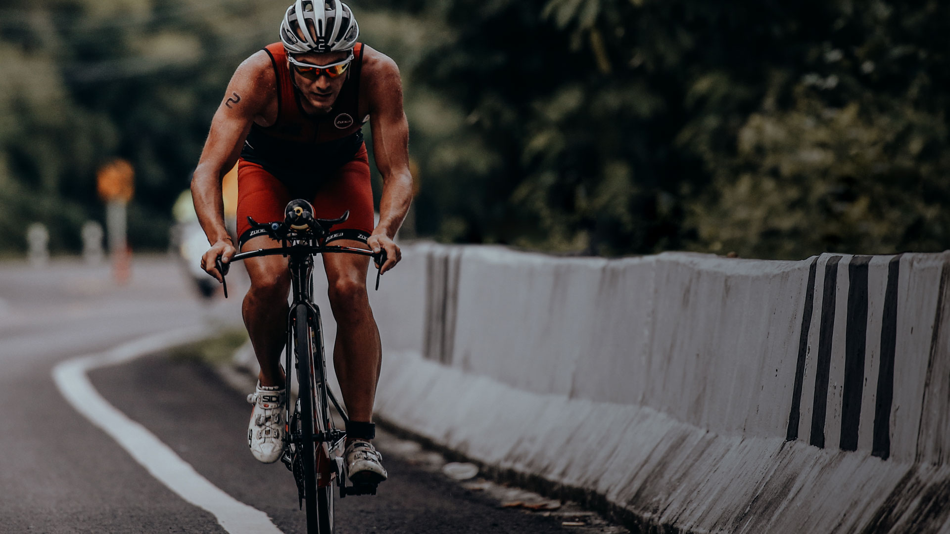 MKC pro triathlete, Alex Polizzi
